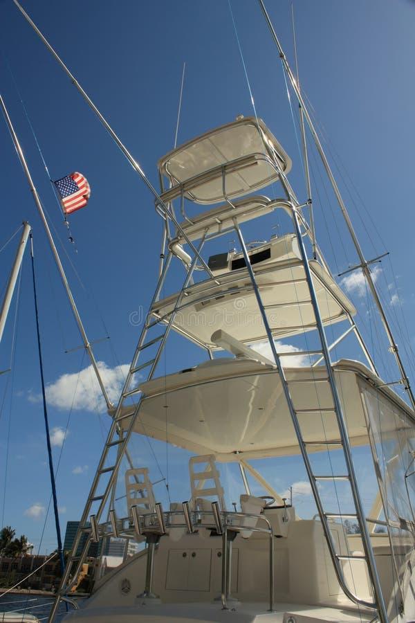 Download Yacht de pêche photo stock. Image du ciel, anchor, voile - 8669528