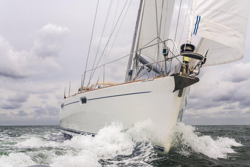 Yacht della barca a vela fotografia stock