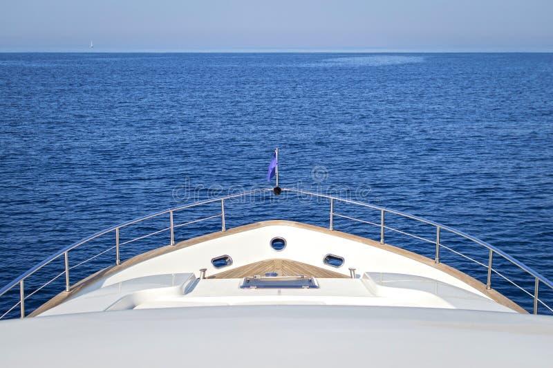 Yacht di lusso del motore fotografie stock