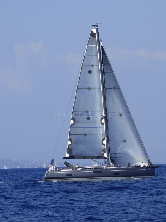 Yacht di navigazione di Wally fotografia stock