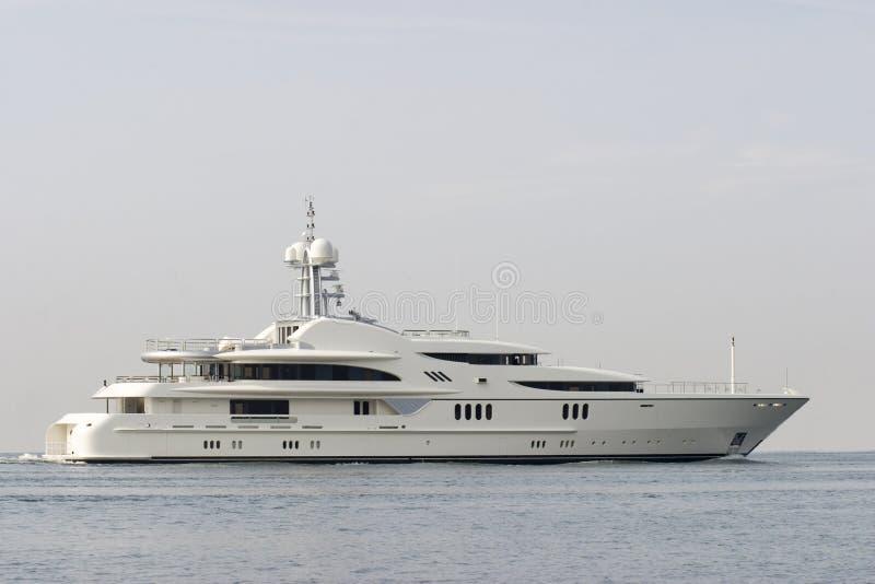 yacht för dollar miljon royaltyfria foton