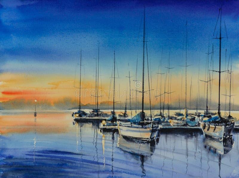 Yacht-Hafen stockbilder