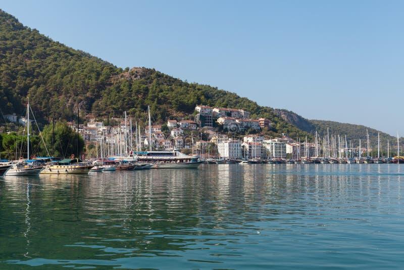 Download Yacht Harbor, Fethiye, Turkey Editorial Photography - Image: 38692797