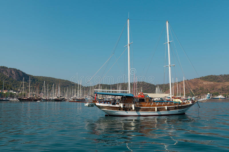 Download Yacht Harbor, Fethiye, Turkey Editorial Stock Image - Image: 38692859