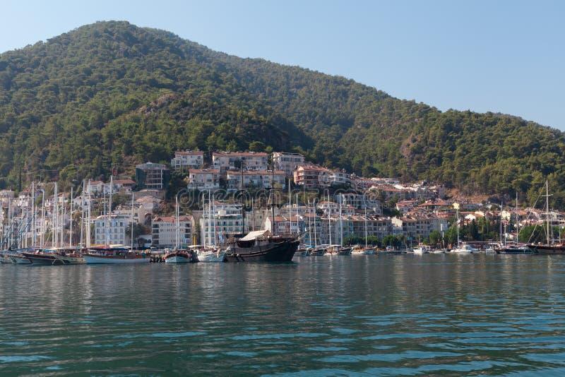 Download Yacht Harbor, Fethiye, Turkey Editorial Photo - Image: 38692941