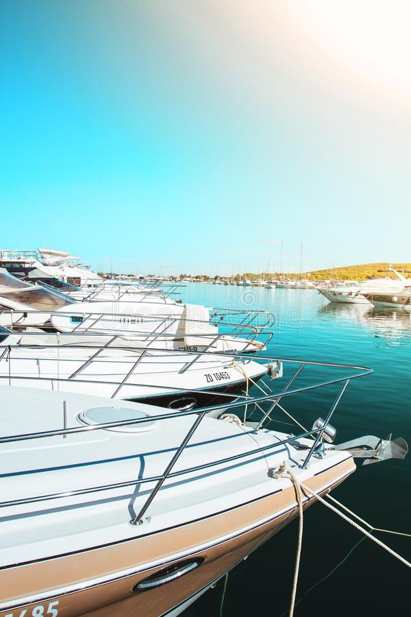 Yacht heaven royalty free stock image