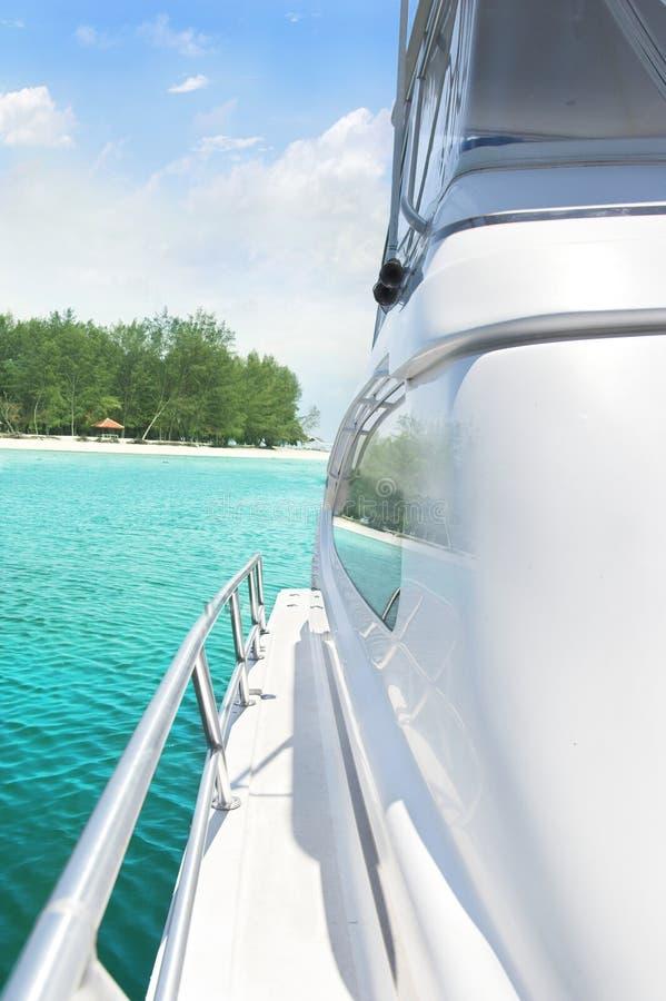 Download Yacht and island stock photo. Image of cruise, cruising - 6692478