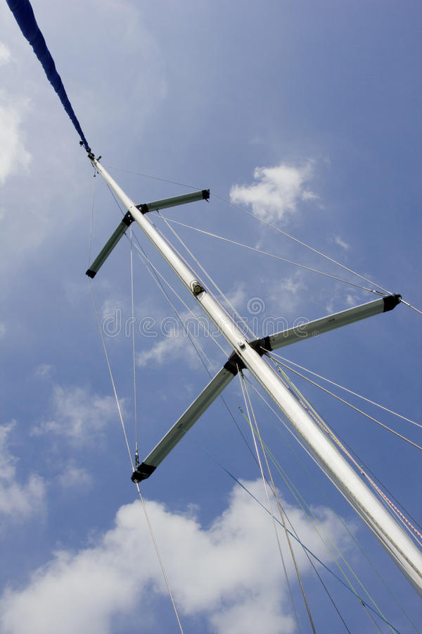 Download Yacht mast stock photo. Image of yacht, transport, hull - 35409250