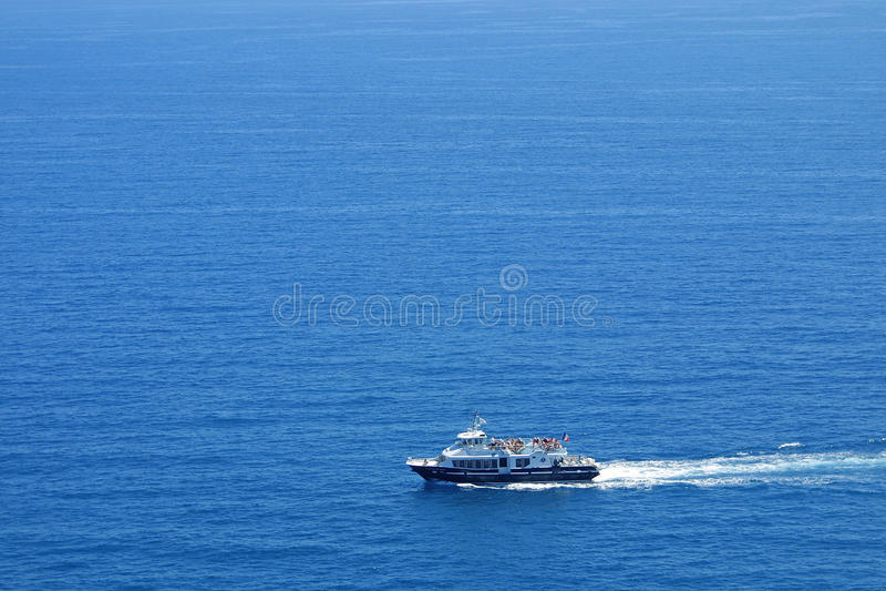 Download Yacht in Mediterranean Sea stock photo. Image of azur - 11316314