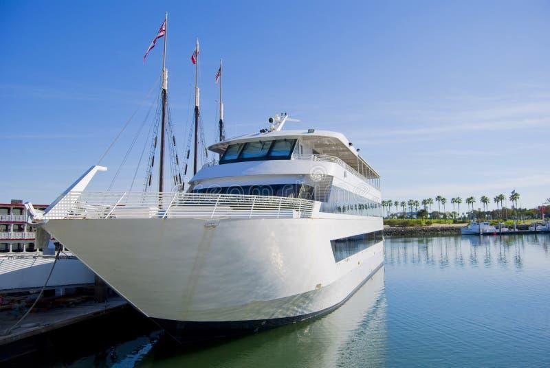 Yacht sul bacino fotografia stock