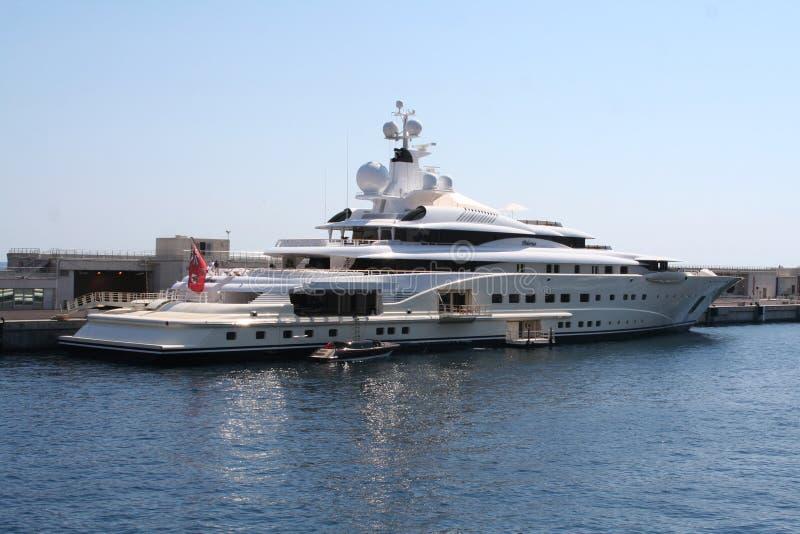 Yacht superbe photos stock