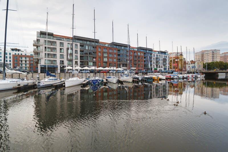 Download Yachten Im Hafen Von Gdansk Redaktionelles Stockfotografie - Bild von cityscape, verankert: 96930427