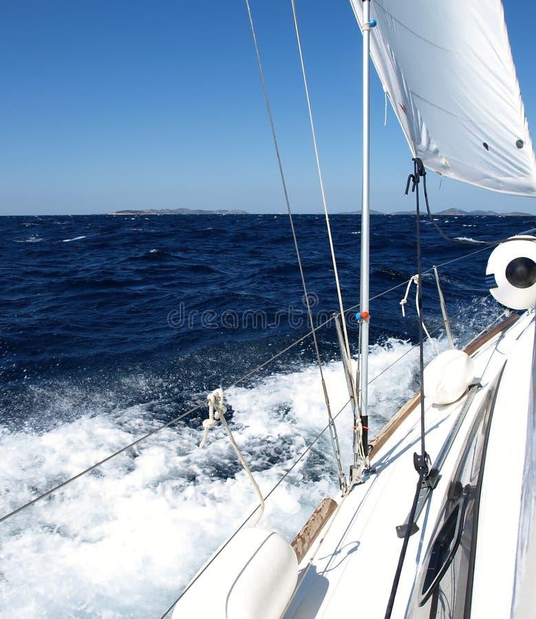 Yachting 2 stockbild