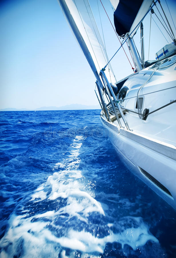 Yachting fotos de stock royalty free