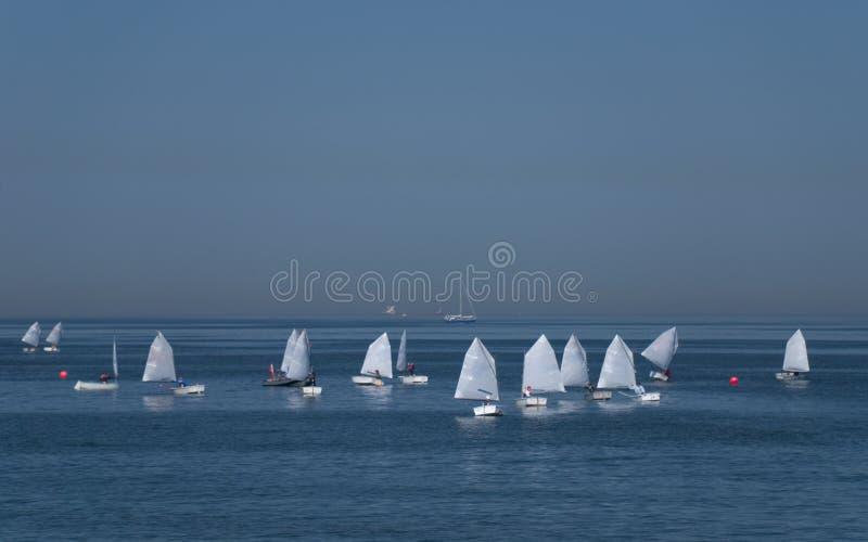 Yachting stockfoto