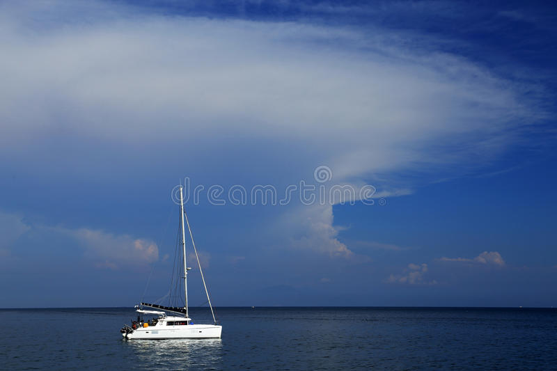Download Yachting At Capri Island, Italy, Europe Stock Photo - Image of blue, romantic: 39514792