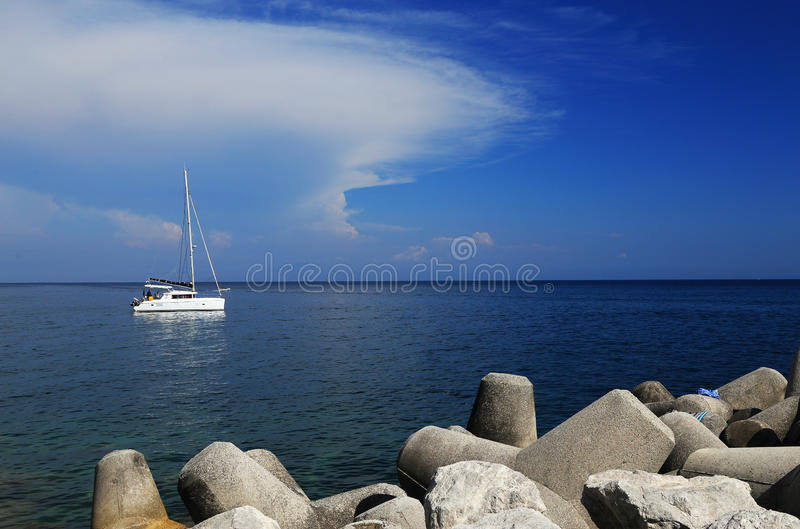 Download Yachting At Capri Island, Italy, Europe Stock Photo - Image of happyness, relax: 39514928