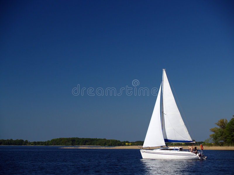 Yachting di Sommer immagine stock libera da diritti