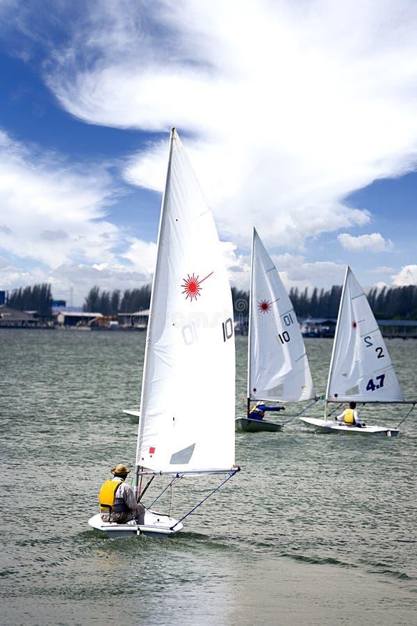 Yachting do lazer imagens de stock