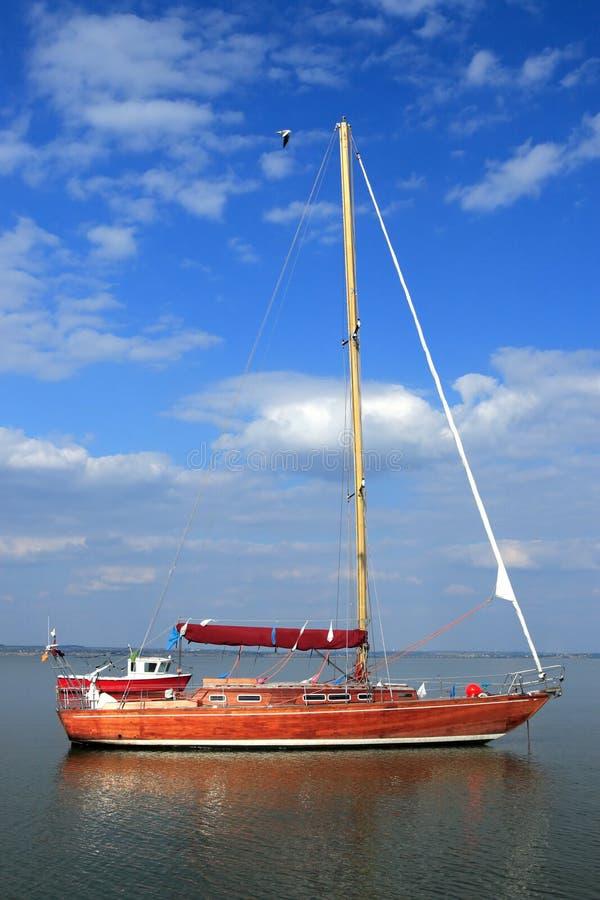 Yachting Klumpen lizenzfreies stockfoto