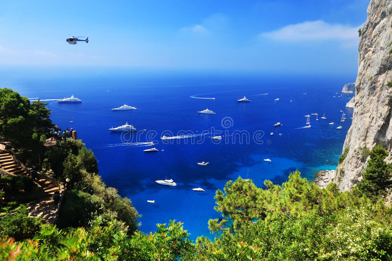 Download Yachting On The Mediteranean Sea Stock Image - Image of gulf, coastline: 39514395