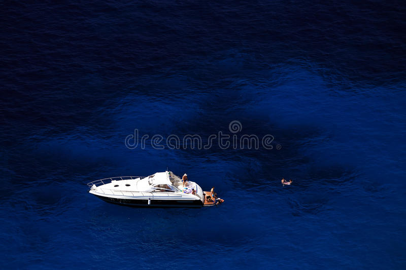 Download Yachting On The Mediteranean Sea Stock Photo - Image of italian, rock: 39514396