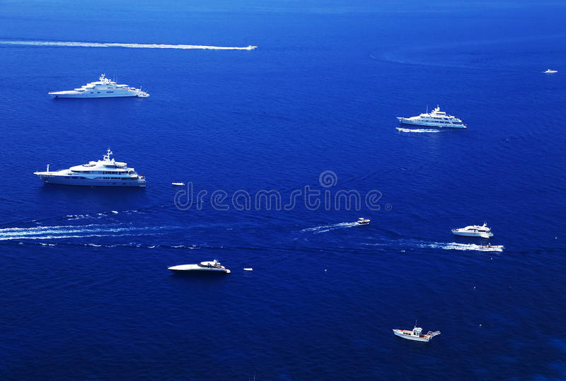 Download Yachting On The Mediteranean Sea Stock Photo - Image of blue, amalfi: 39514410