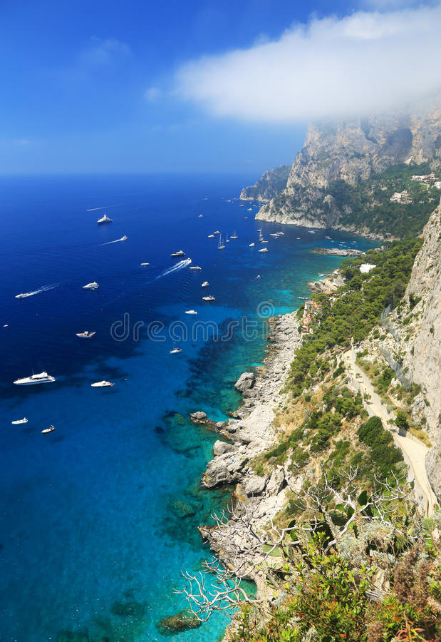 Download Yachting On The Mediteranean Sea Stock Image - Image of italian, dive: 39514481