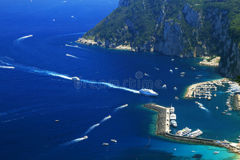 Download Yachting On The Mediteranean Sea Stock Photo - Image of italy, luxus: 39514556