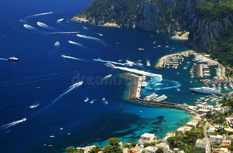 Download Yachting On The Mediteranean Sea Stock Image - Image of rich, landscape: 39514575