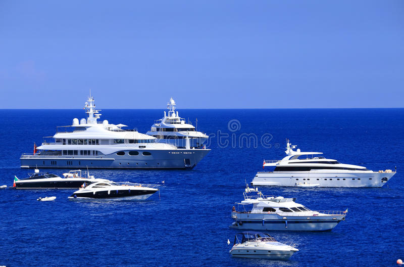 Download Yachting On The Mediteranean Sea Stock Photo - Image of landscape, august: 39514644