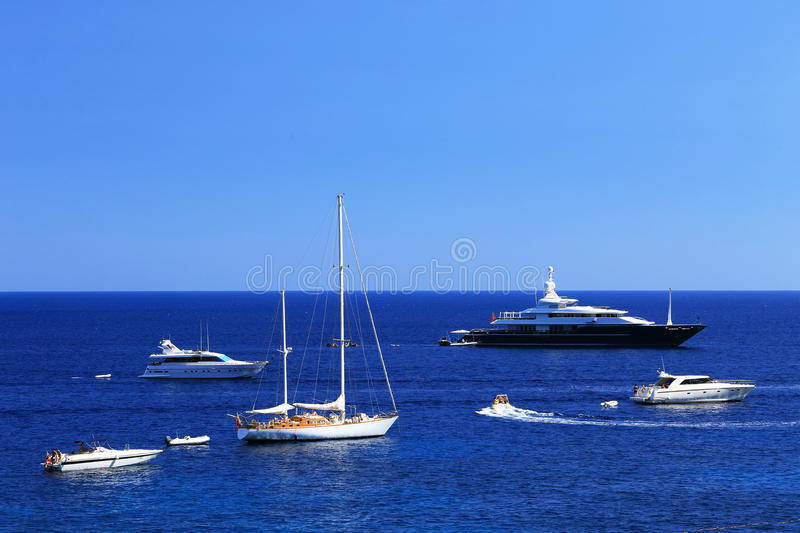 Download Yachting On The Mediteranean Sea Stock Image - Image of seaside, isle: 39514653