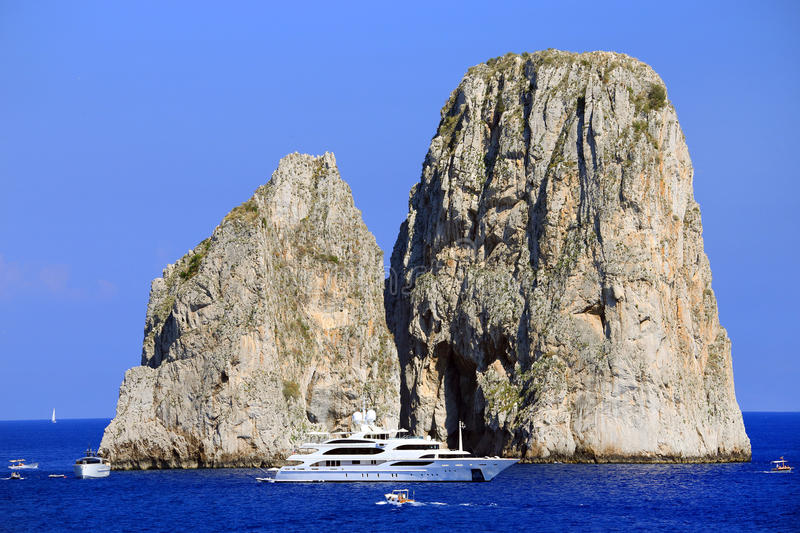 Download Yachting On The Mediteranean Sea Stock Photo - Image of luxurious, italy: 39514674