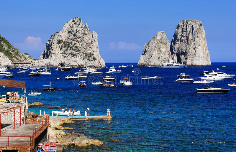 Download Yachting On The Mediteranean Sea Stock Image - Image of seascape, resort: 39514683