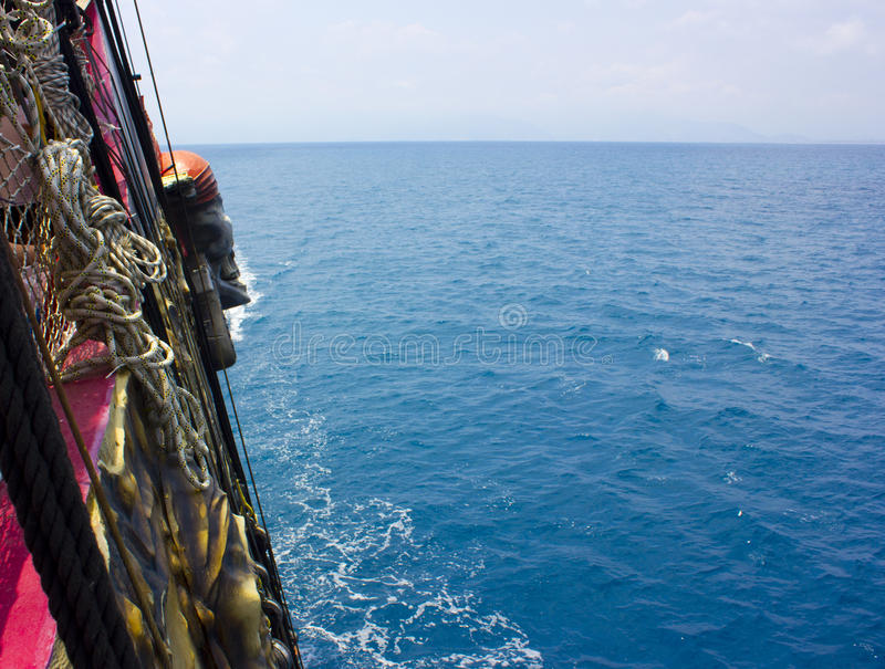Yachting and shipping. Rope knots. Sea travel. Yachting and shipping. Rope knots stock photos