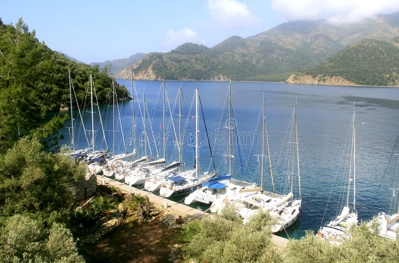 Yachts photographie stock