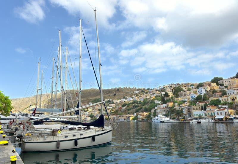 Yachts photos stock