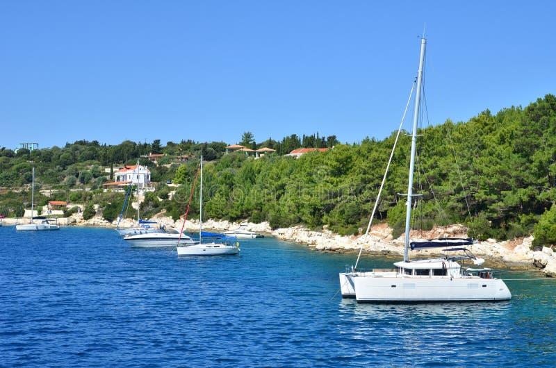 yachts fotografia stock libera da diritti