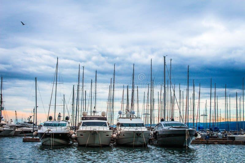 yachts immagine stock
