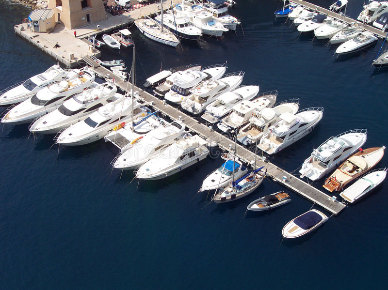 Yachts royalty free stock photography