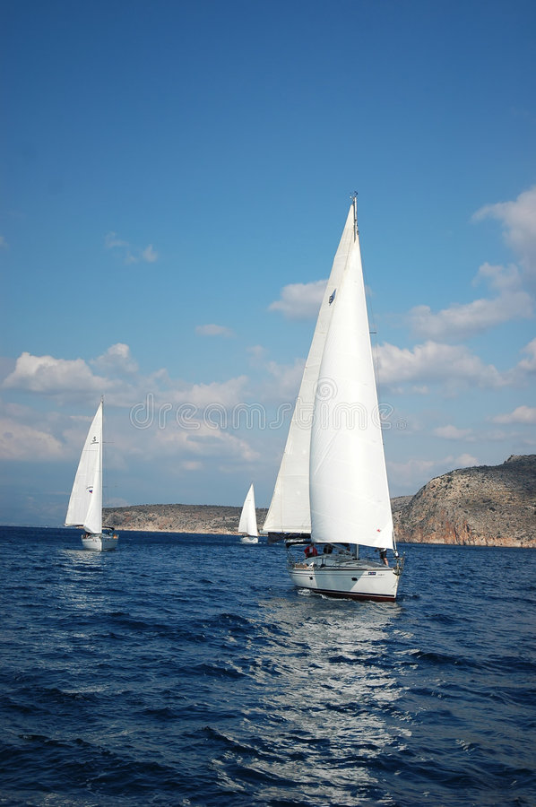 Download Yachts stock photo. Image of island, group, spring, ship - 8686552