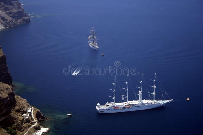 Yachts de plaisir image libre de droits