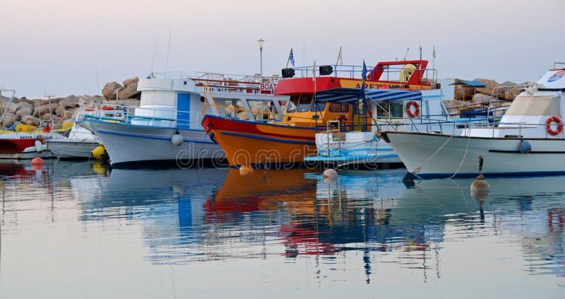 Yachts de touristes photos libres de droits