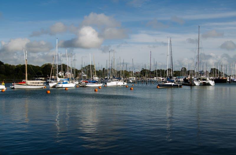 Yachts at Lymington