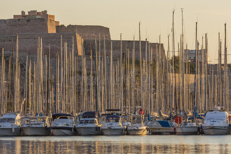 Download Yachts In Marseille Harbor - French Riviera Stock Photo - Image of riviera, vieux: 26687410