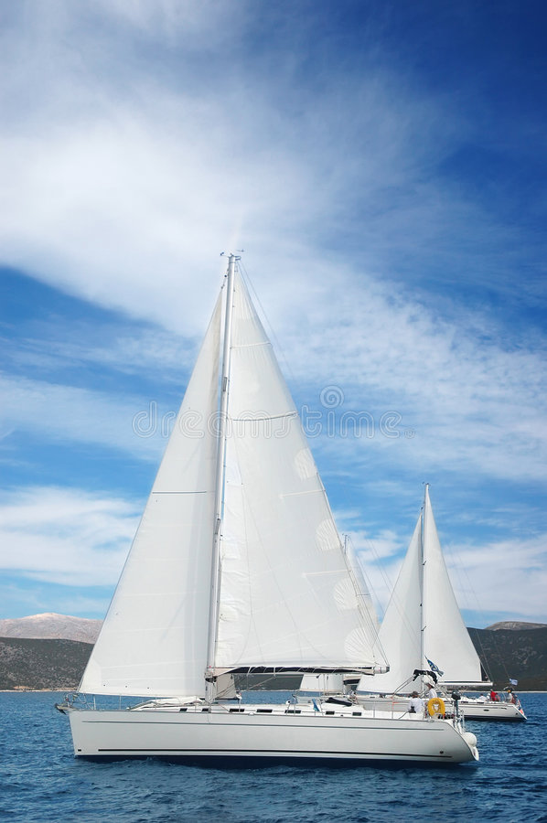 Download Yachts In The Medeterian Sea Stock Image - Image: 8878885