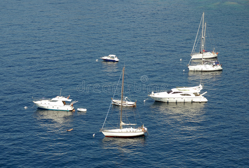 Download Yachts On The Mediterranean Stock Photo - Image: 3534276