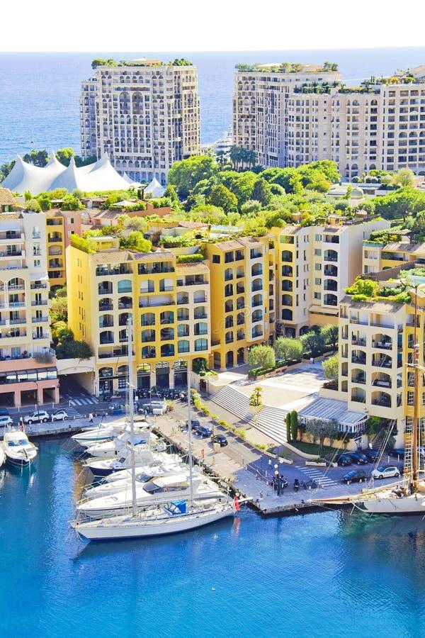 Yachts in Monaco stock photos