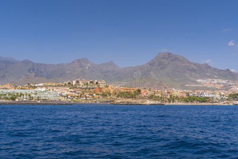 Yachttur längs Tenerife arkivbilder