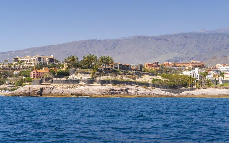 Yachttur längs Tenerife royaltyfri foto